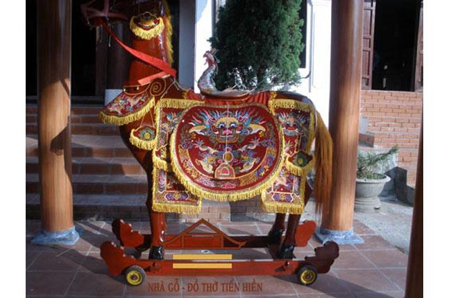Ông ngựa, ông voi đình làng Tam Thuấn huyện Phúc Thọ, Hà Nội