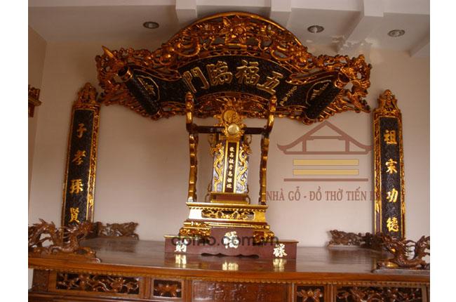 Nhà thờ của ông Thiết nhà số 65B phố Đinh Tiên Hoàng, thị xã Sơn Tây, Hà Nội